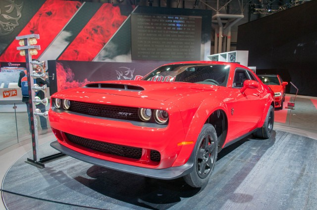 2018 Dodge Challenger Srt Demon 2017 New York Auto Show