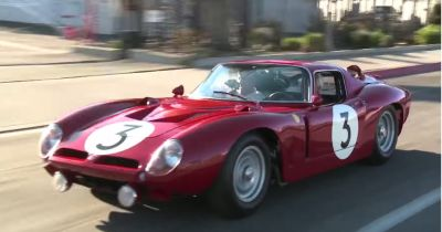 Class-winning Le Mans racer rolls into Jay Leno's Garage